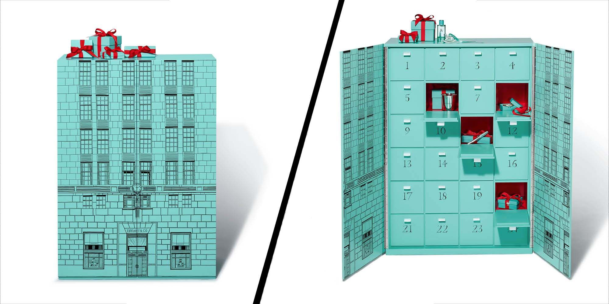 Tiffany & Co has launched the world's most luxurious advent calendar
