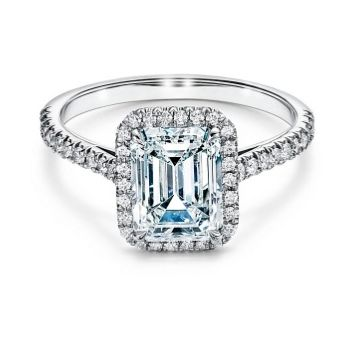 best emerald cut engagement rings   tiffany and co engagement ring