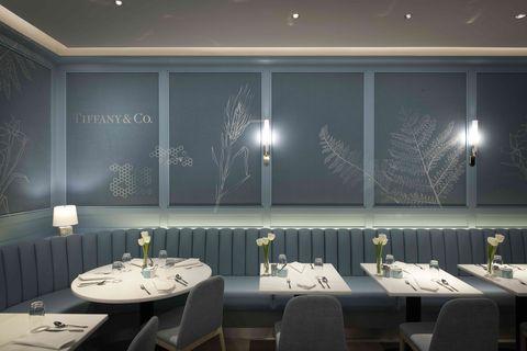 Tiffany blue box cafe, Harrods