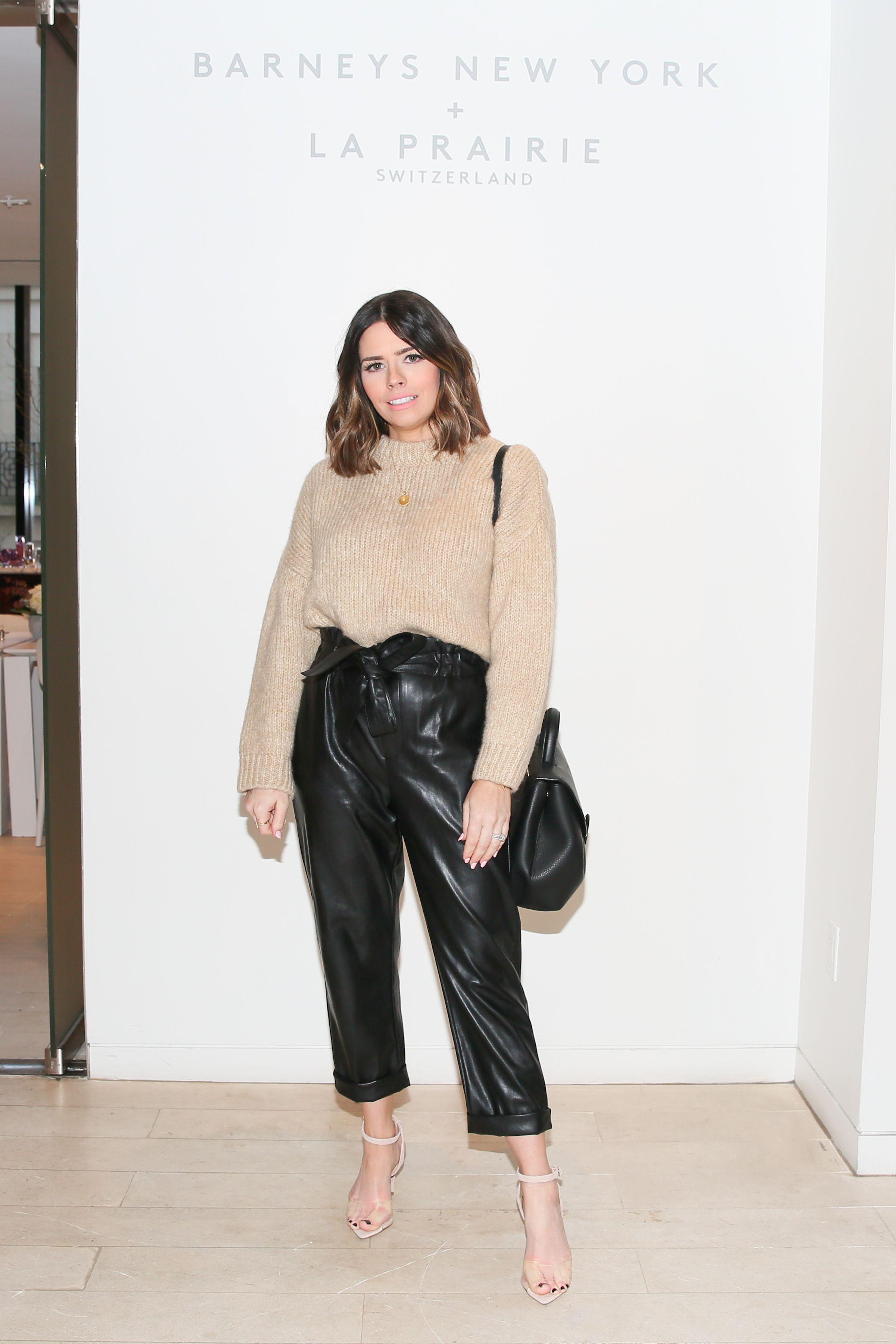 Tiffany Jais Tiffany Jais attends Barneys New York Madison Avenue to celebrate the launch of La Prairie on February 28.