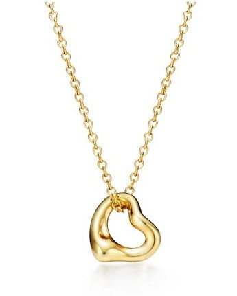 best classic iconic pieces of jewellery to wear forever tiffany heart necklace