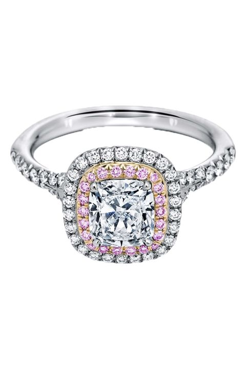 Tiffany pink engagement ring