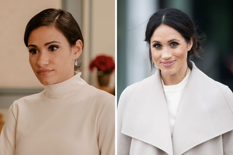 harry and meghan cast comparisons