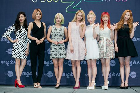 OnStyle 'Channel SNSD' Press Conference In Seoul
