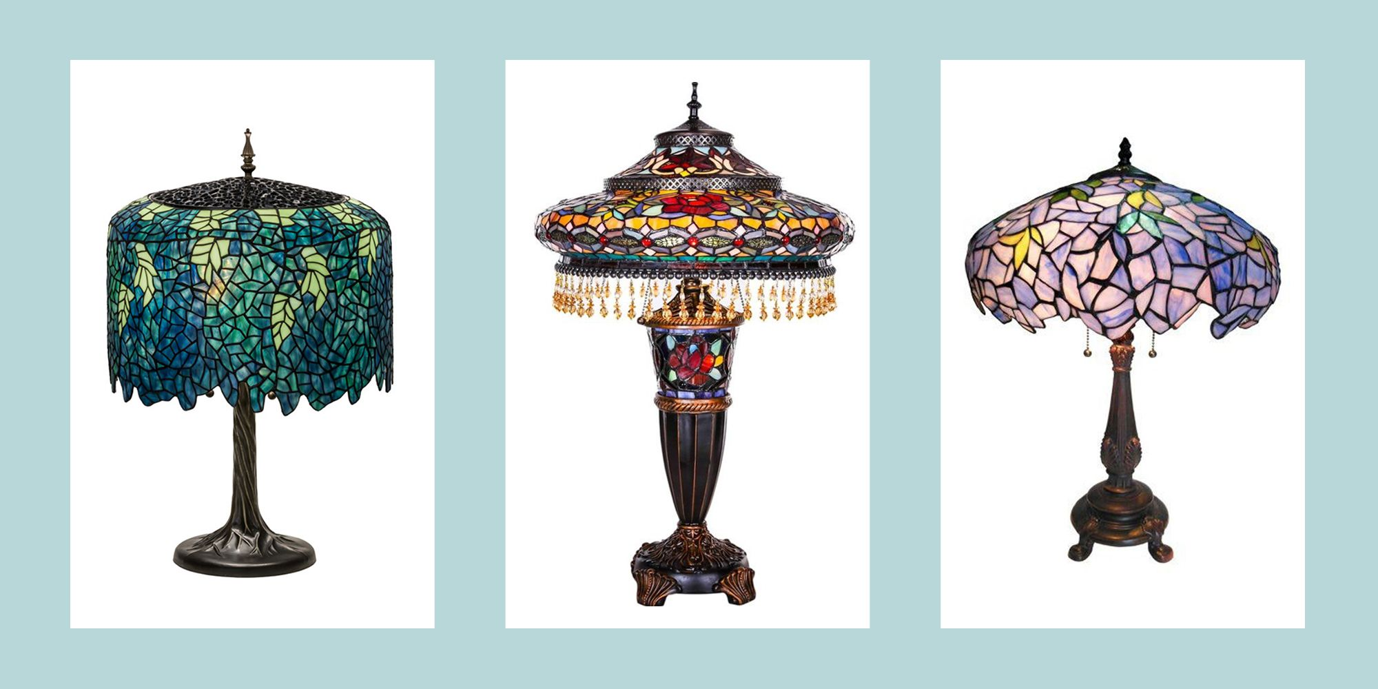 The 15 Best Tiffany-Style Lamps to Buy Online