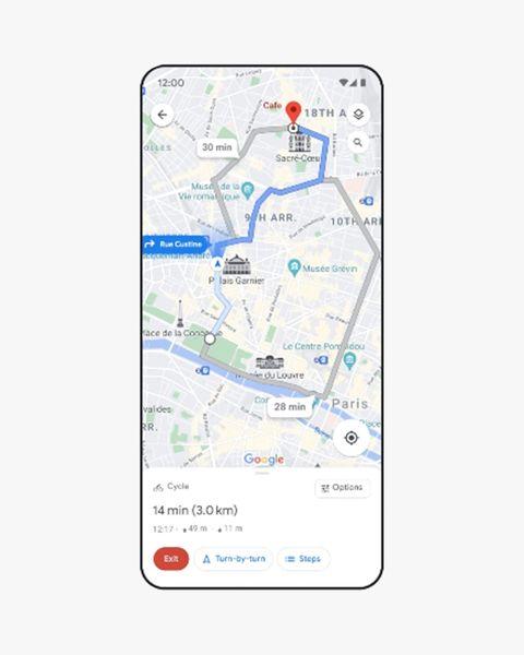 google lite navigation