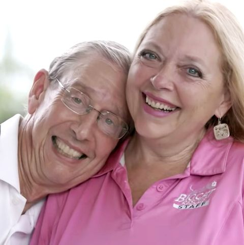 Face, People, Facial expression, Skin, Pink, Smile, Cheek, Fun, Happy, Grandparent,
