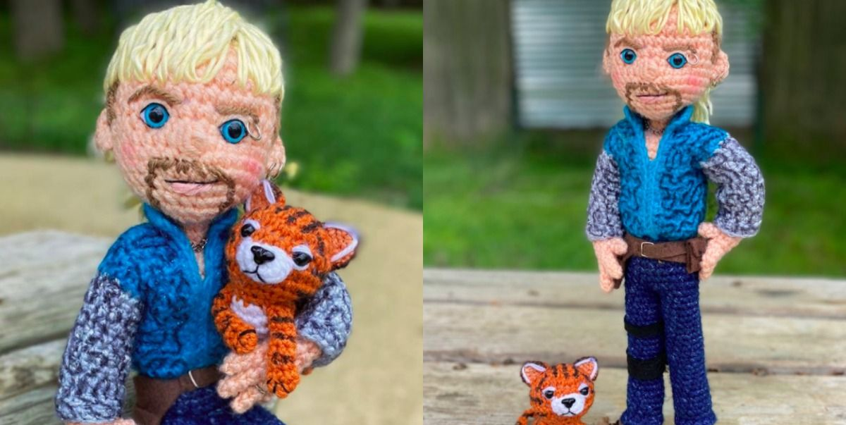 This Pattern Will Teach You How To Crochet Joe Exotic From Netflix's 'Tiger King'