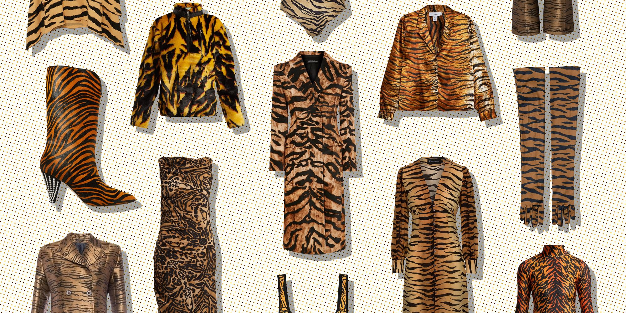 20 Tiger Print Items To Buy Right Now