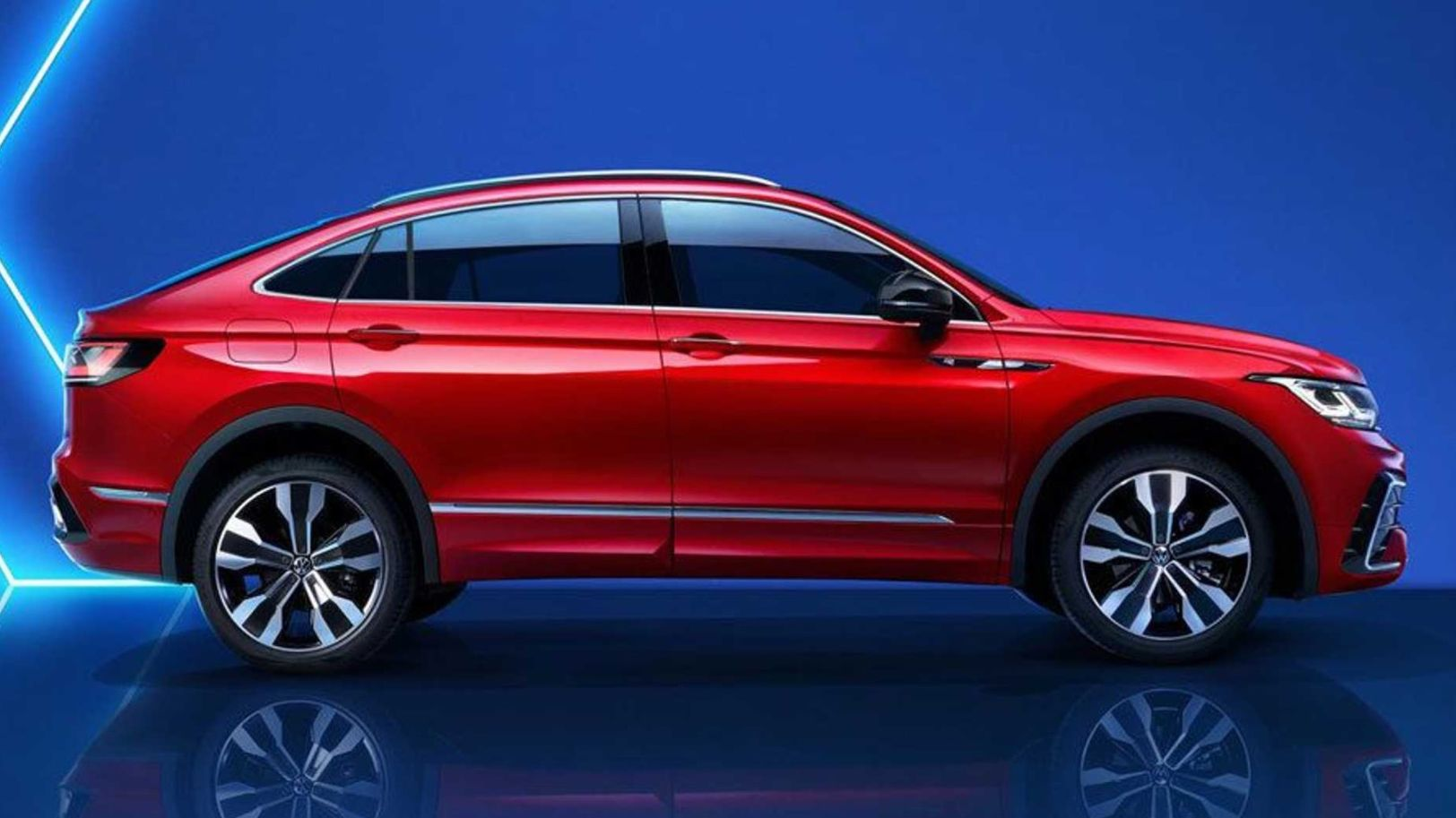 Vw Tiguan X Gives The Suv A Coupe Style Roof