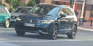 Volkswagen Tiguan 2020 leaked