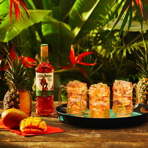 Captain Morgan launches new Tiki Spiced Rum