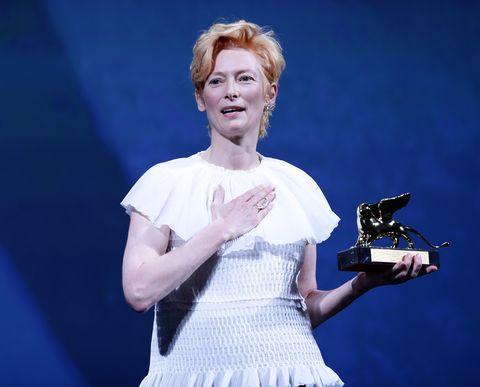 ティルダ・スウィントン 功労賞 名誉金獅子賞 77回 ベネチア国際映画祭 受賞