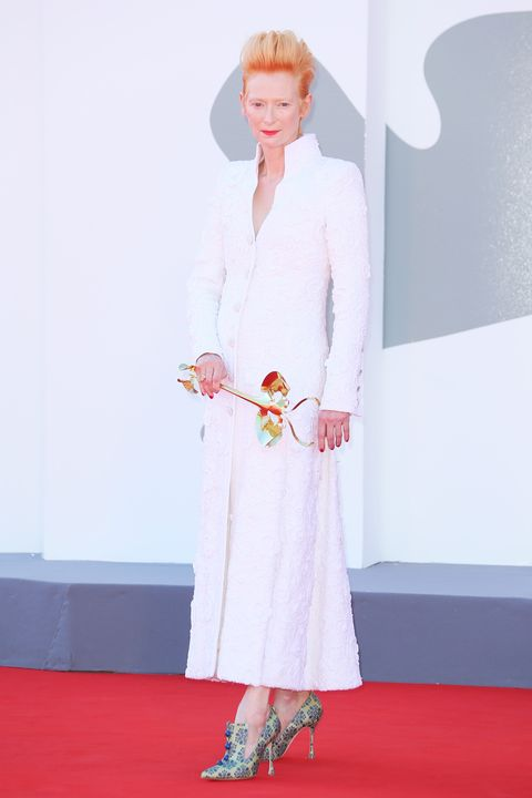 """""""the human voice"""" and """"quo vadis, aida"""" red carpet   the 77th venice film festival"""