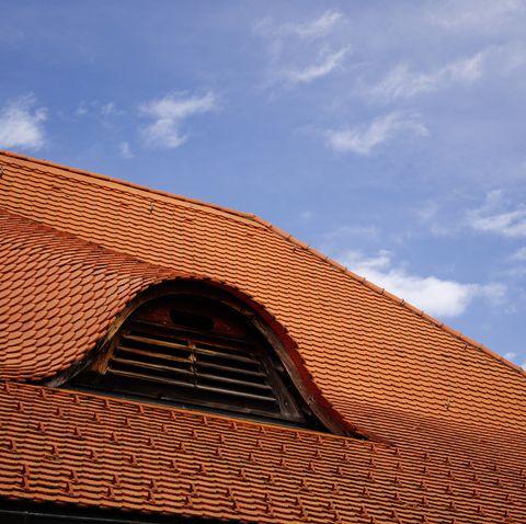 polfilter, steildach, schrägdach, biberziegel, biberschwanz dachziegel,