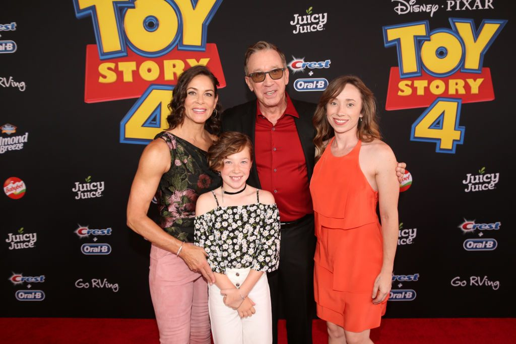 Tim Allen's Wife and Kids Make a Rare Public Appearance at