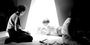 Tim Burton creando