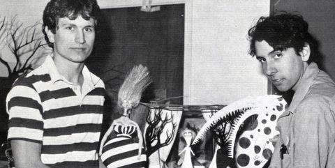 Tim Burton en sus primeras peliculas