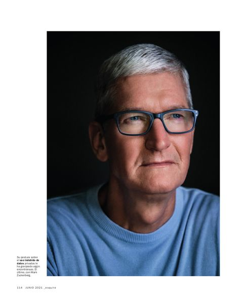 uno de los protagonistas del número de junio de 2021 de esquire
