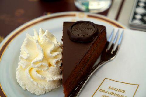 Dime a qué parte de Europa vas y te diré qué tipo de tarta comer