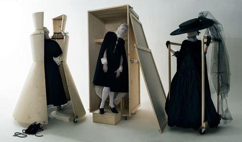 Outerwear, Costume design, Dress, Fashion, Formal wear, Gown, Costume, Haute couture, Fashion design, Mantle,