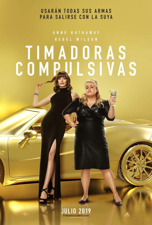 'Timadoras compulsivas', comedia con Anne Hathaway y Rebel Wilson, tiene nuevo tráiler oficial