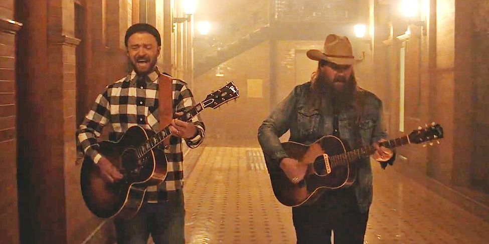 justin timberlake chris stapleton country music