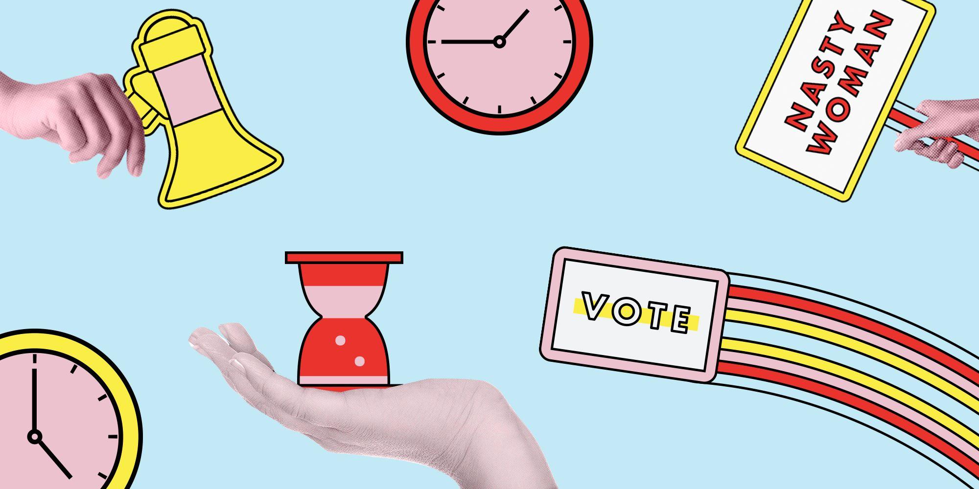 2020 election voting circular graphics - Download Free Vectors, Clipart  Graphics & Vector Art