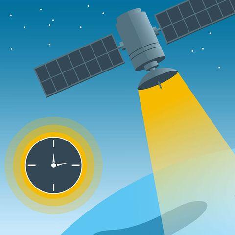 Windmill, Sky, Illustration, Satellite, Wind,