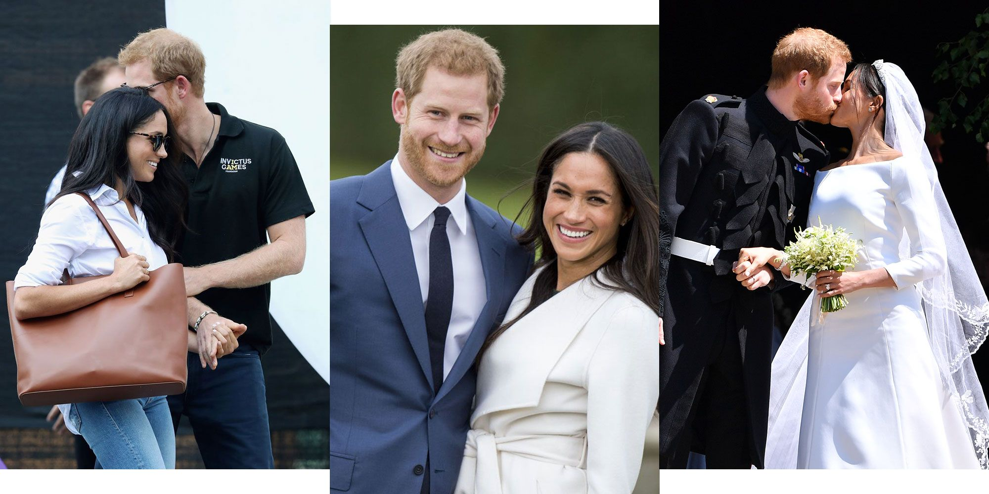 Meghan markle prince harry dating timeline