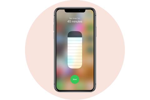 hẹn giờ tắt apple iphone