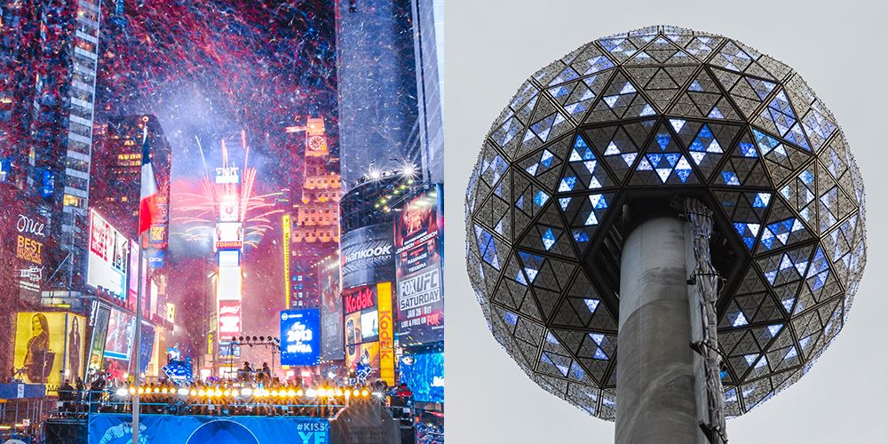 Times Square Ball Drop Facts When Was The First Times