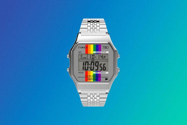 timex t80 rainbow