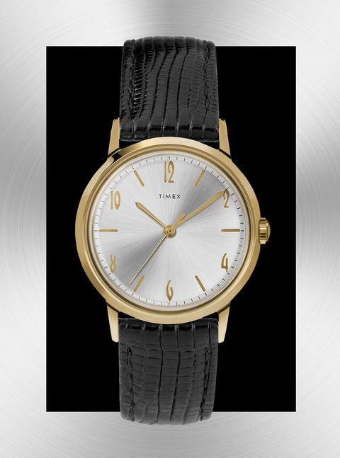 Watch, Analog watch, Watch accessory, Fashion accessory, Strap, Brand, Material property, Jewellery, Font, Metal,