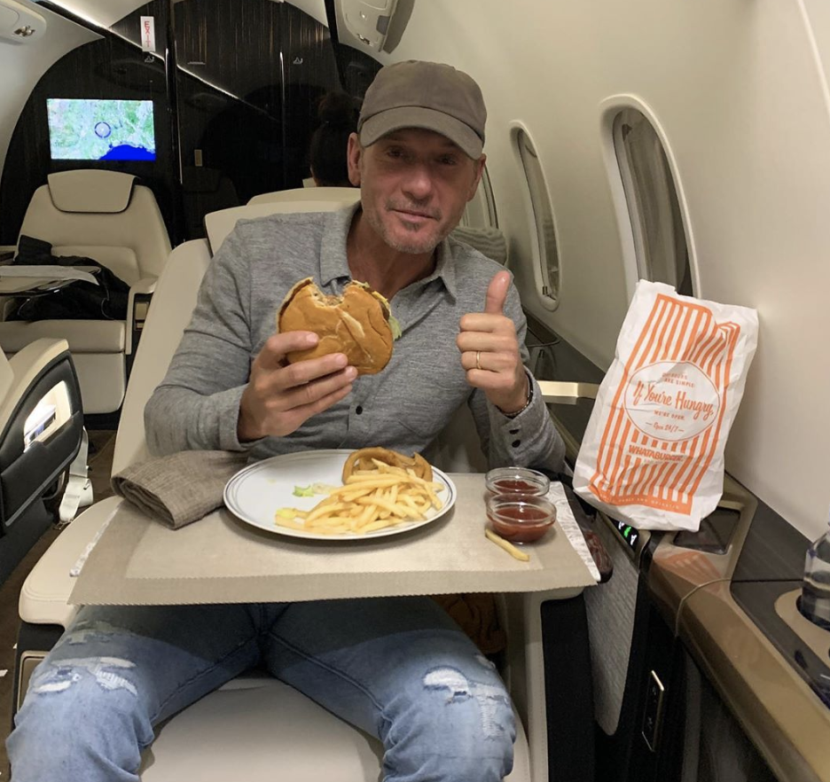 Tim McGraw's Favorite Cheat Meal Is A Whataburger Classic