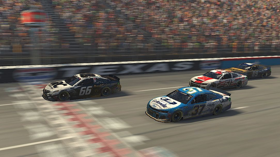 Timmy Hill Wins Texas eNASCAR iRacing Pro Race