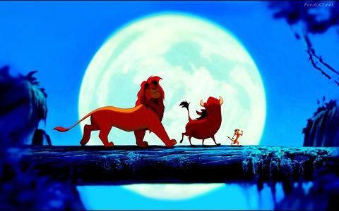 Simba Timon y Pumba en el Rey Leon