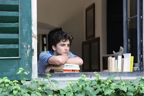 Timothee Chalamet Call my by your name