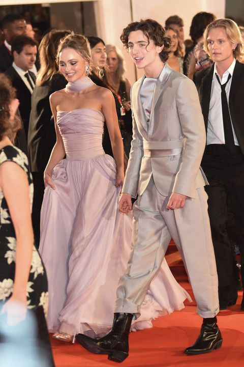 Timothee Chalamet Admits Embarrassment Over Lily Rose Depp Boat Kissing Pics