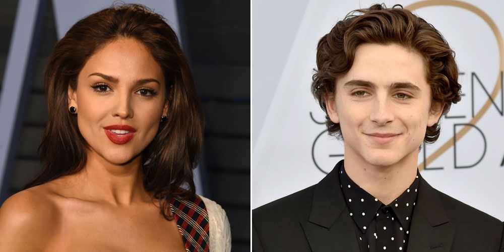 Timothee Chalamet Spotted Kissing Eiza Gonzalez Following Lily Rose Depp Split