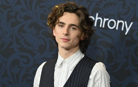 Timothee Chalemet look con chaleco