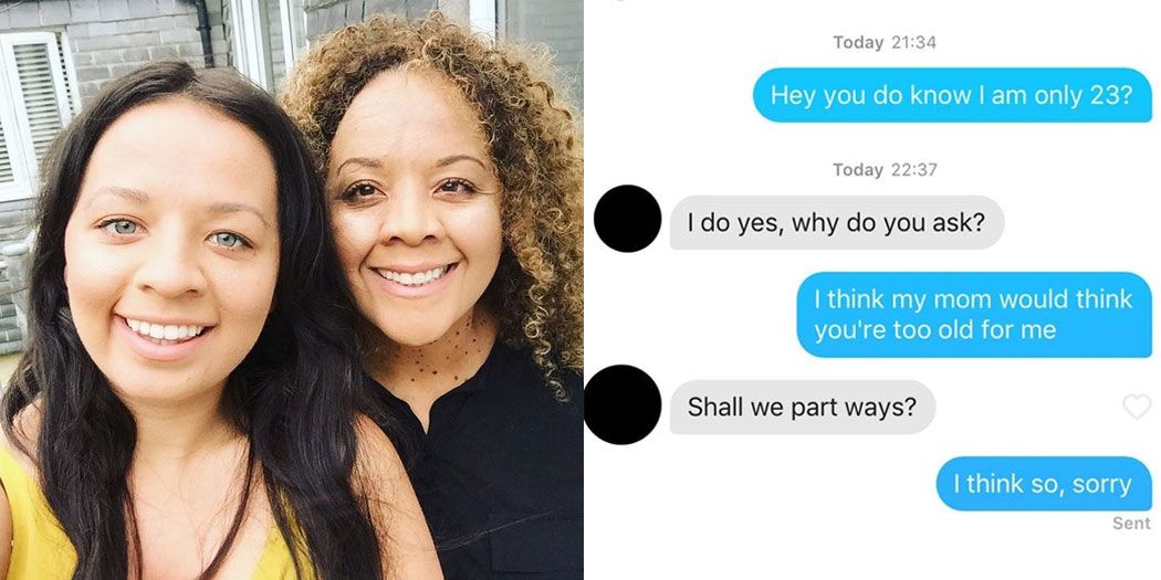 How old is too old for tinder