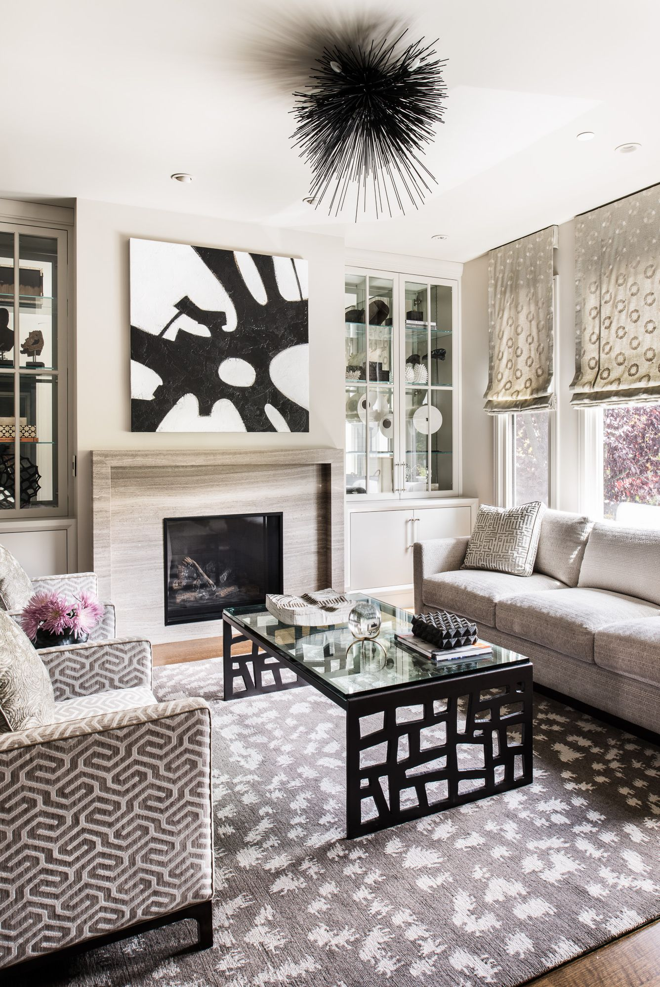 30 Bold Living Rooms That Mix and Match Patterns