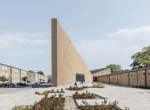 Tingbjerg Library and Culture House, COBE, Tingbjerg, Copenhagen, Danimarca