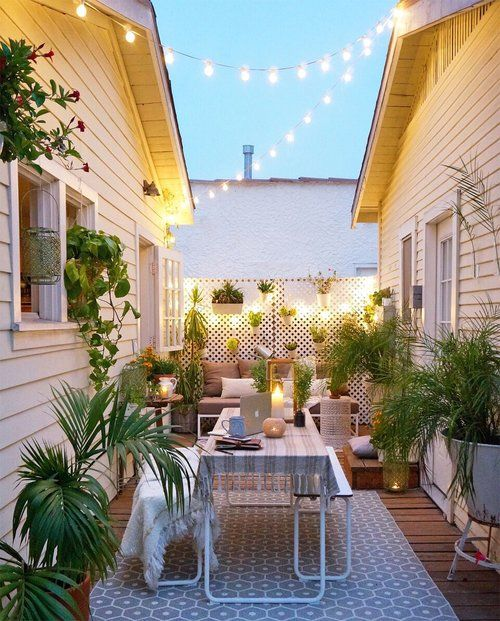 small space outdoor decorating & 30 Best Patio and Porch Design Ideas - Decorating Your Outdoor Space