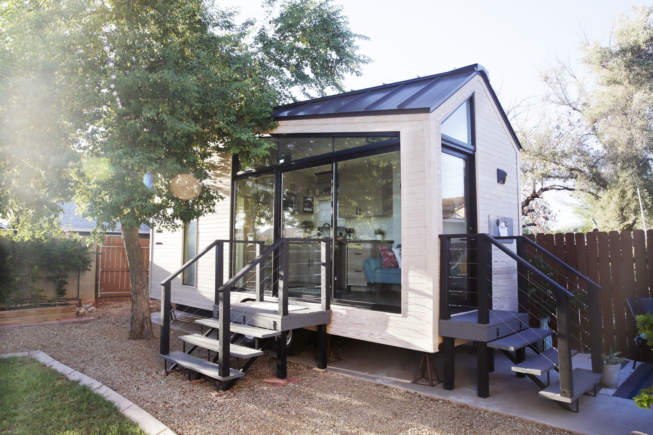 Tiny house plans modern
