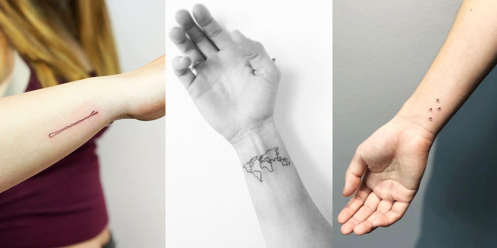 20 Best and Cutest Wrist Tattoo Ideas to Copy , Small Tattoo