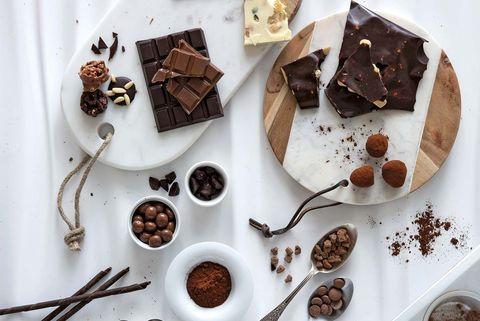 Tipos y variedades de chocolate