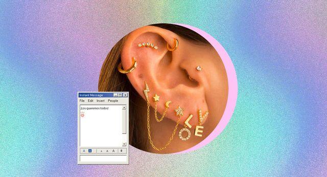 todos los tipos de piercing de oreja