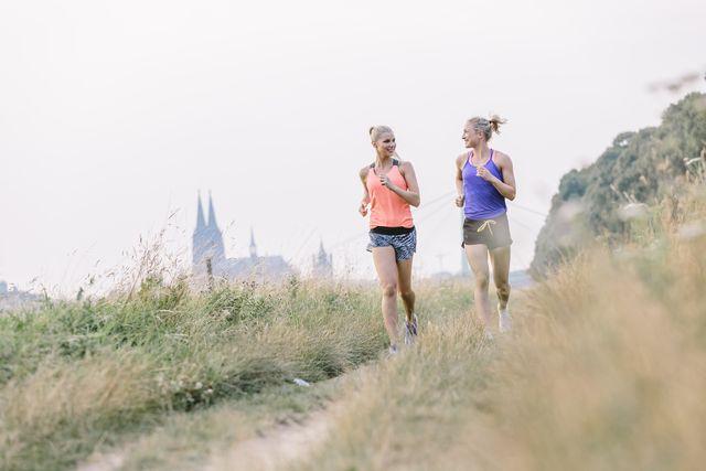 vrouwen beginnen hardlopen beginners